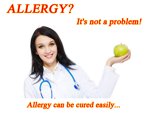 What type of food allergies are there